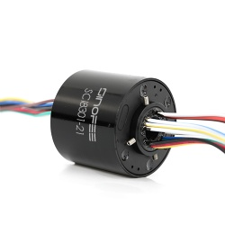 240V 250rpm 38.1mm through bore slip ring