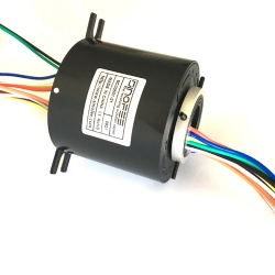 500rpm 50mm through bore slip ring